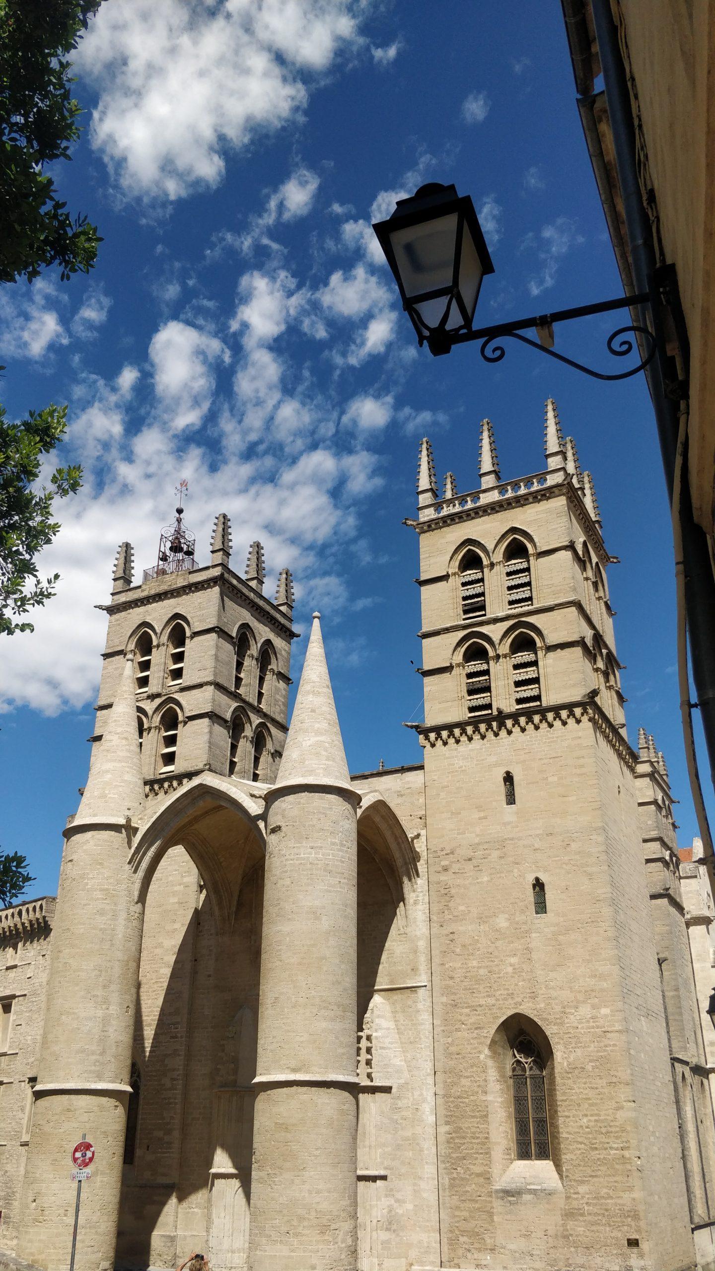 Die Kathedrale von Montpellier (Cathédrale Saint-Pierre de Montpellier)